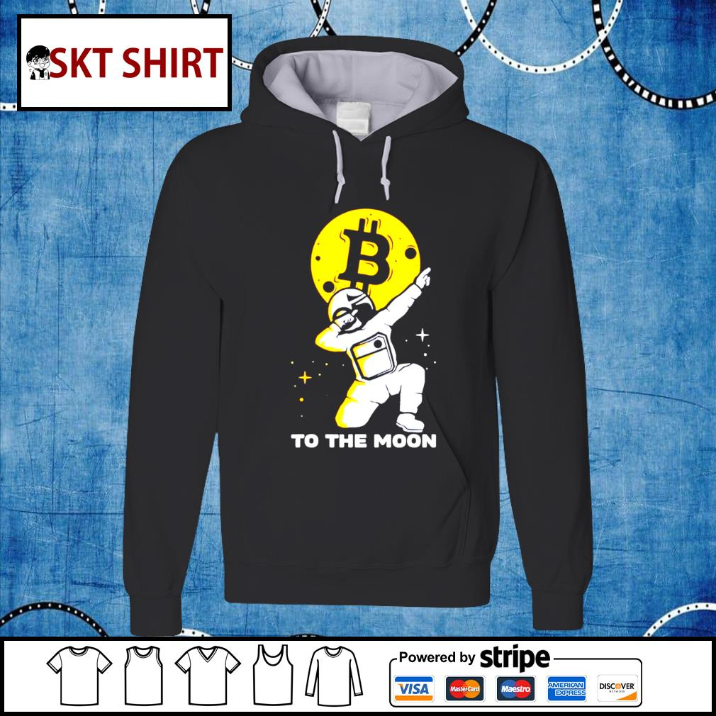 Bitcoin Course to the moon bitcoin us 2021 hoodie