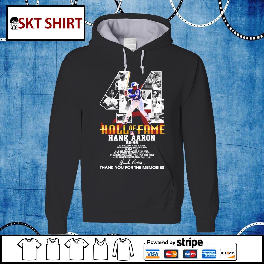 Hall Of Fame Hank Aaron 1934-2021 hoodie
