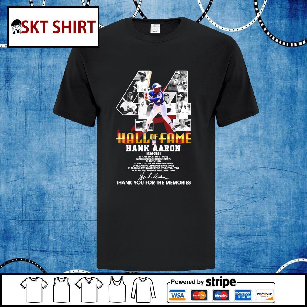 Hall Of Fame Hank Aaron 1934-2021 shirt