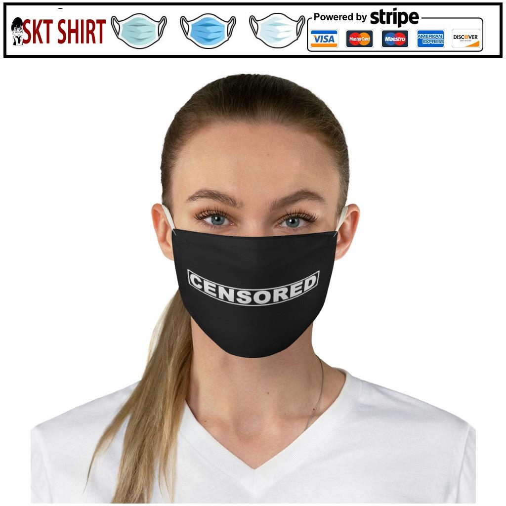 Censored face mask 2