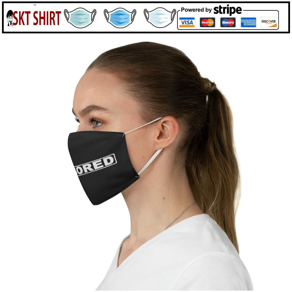 Censored face mask 3