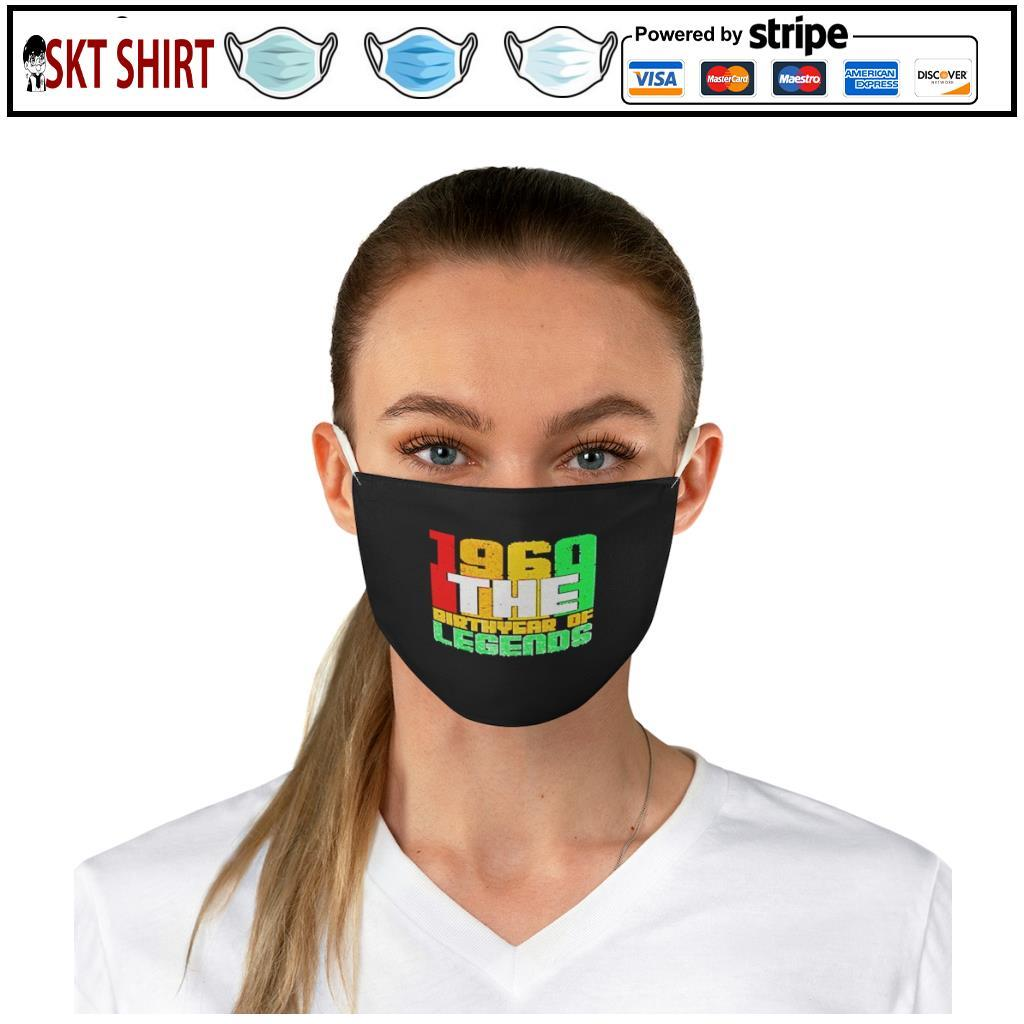 1960 The Birth Year Of Legends face mask e