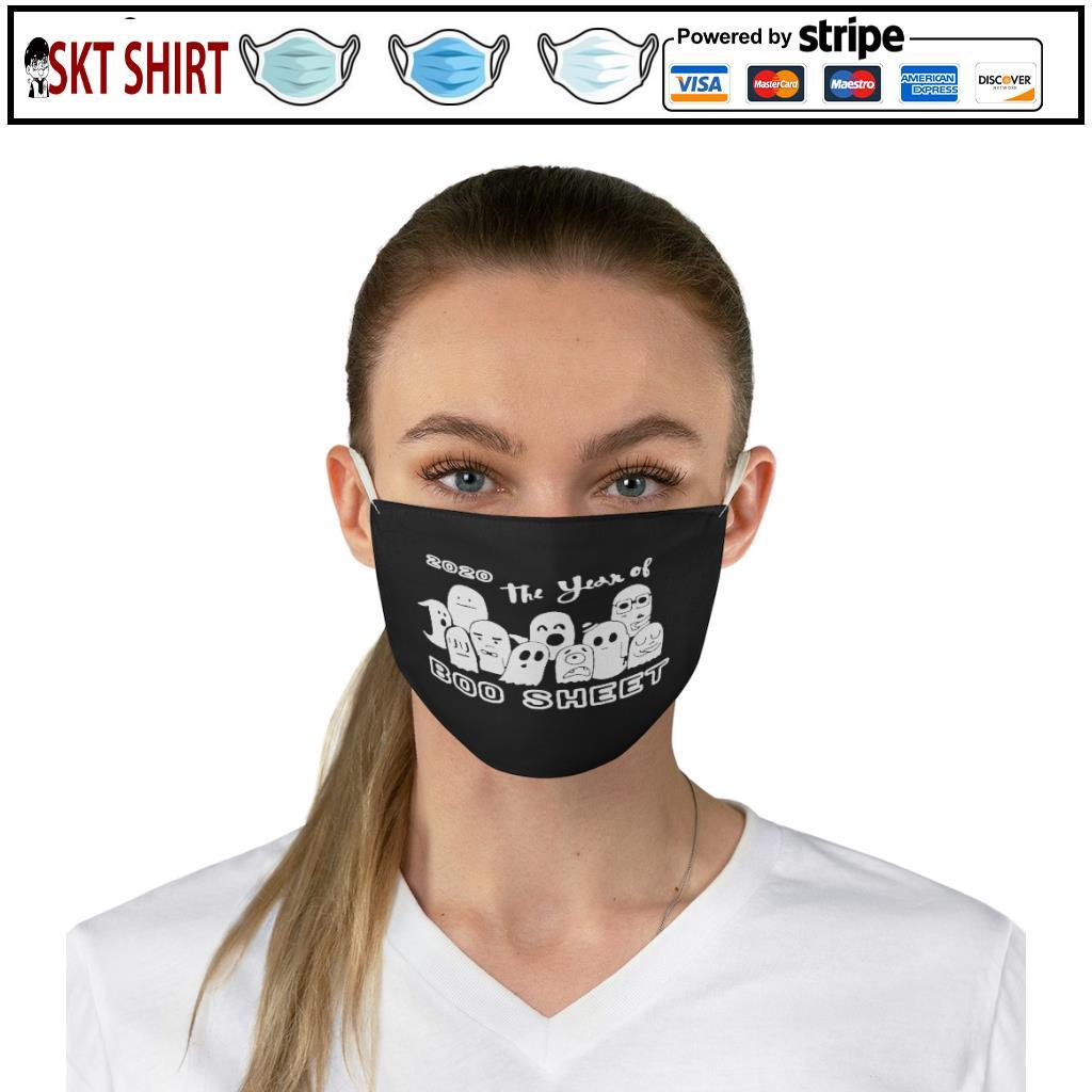 2020 The Years Of Boo Sheet face mask 2