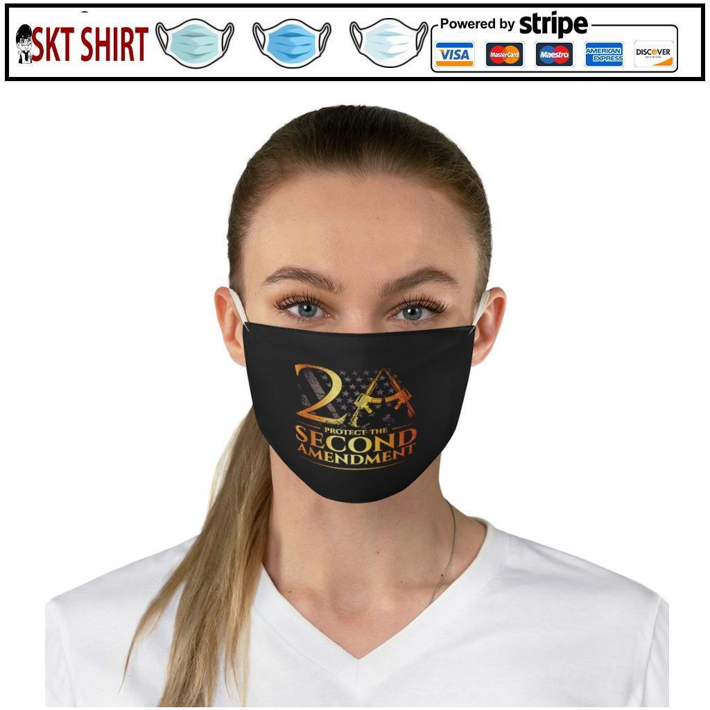 2A Protect The Second Amendment face mask 2