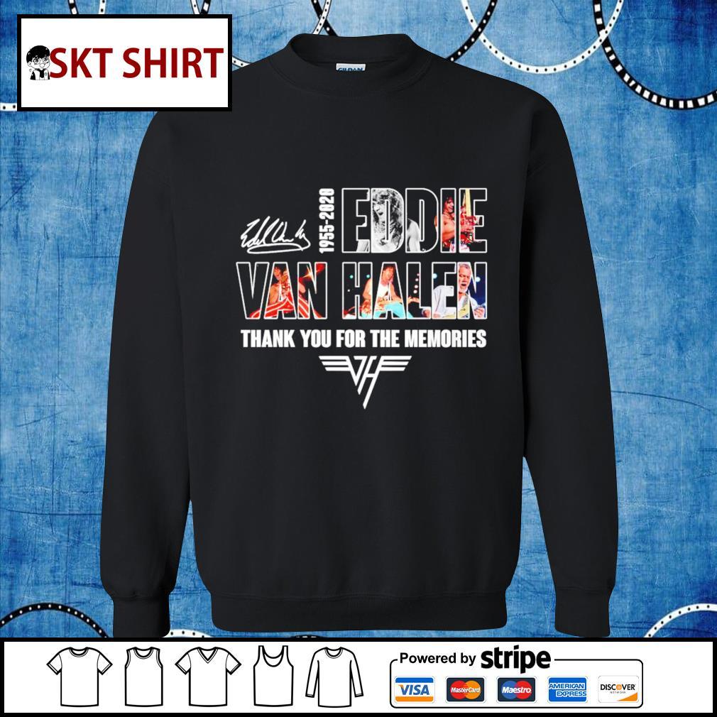 1955-2020 Eddie Van Halen thank you for the memories s sweater