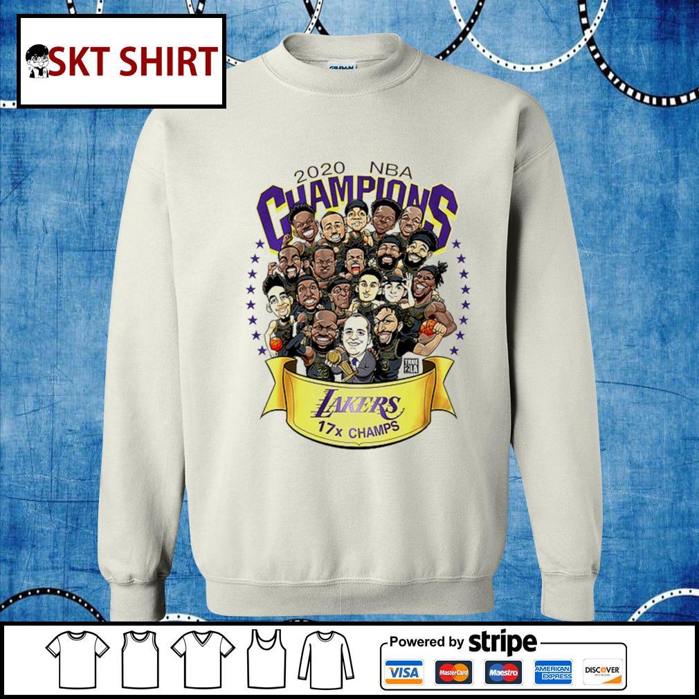 2020 NBA champions Lakers 17 champs s sweater