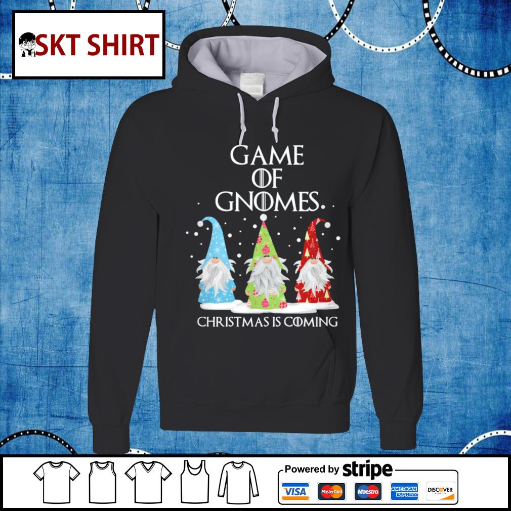 Game of Gnomes Christmas is coming shirt, sweater hoodie