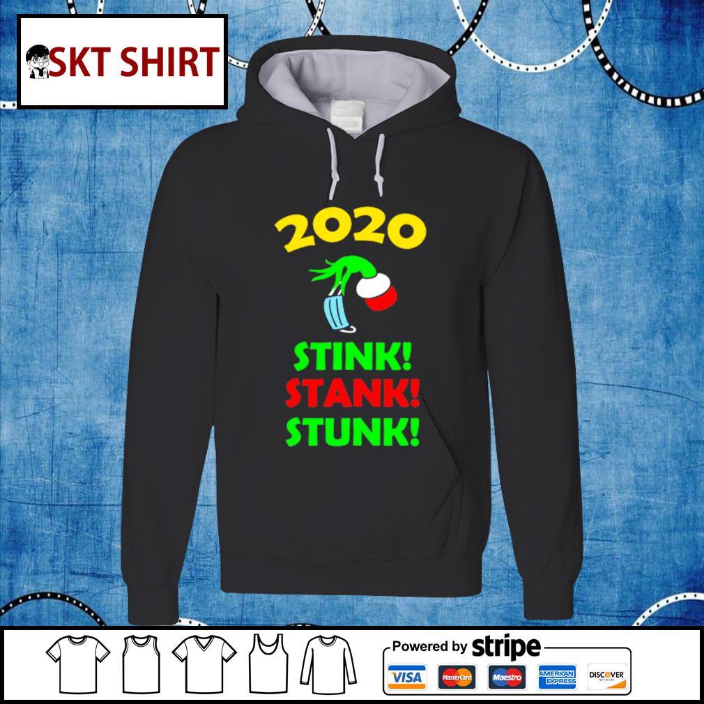 2020 Stink Stank Stunk Funny Christmas Holiday shirt, sweater hoodie