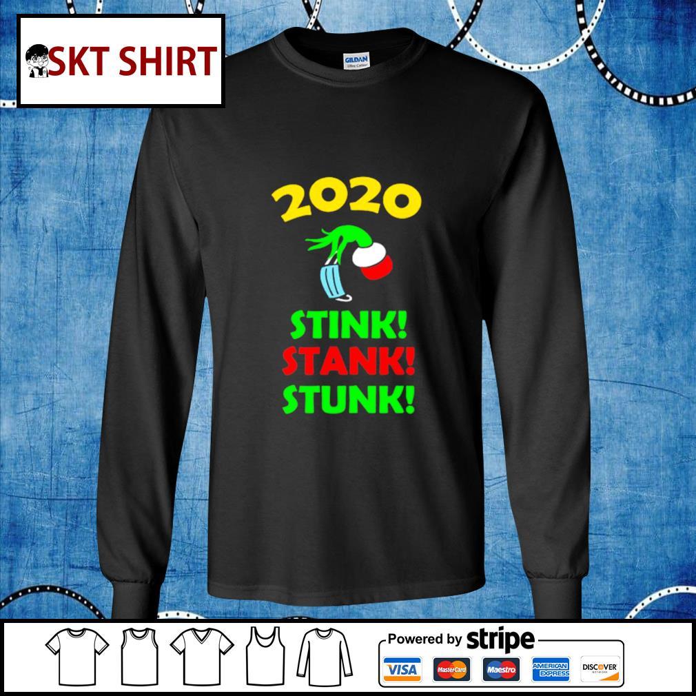 2020 Stink Stank Stunk Funny Christmas Holiday shirt, sweater longsleeve-tee