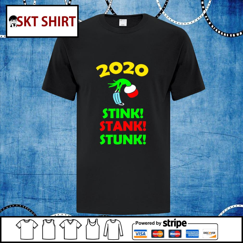2020 Stink Stank Stunk Funny Christmas Holiday shirt, sweater