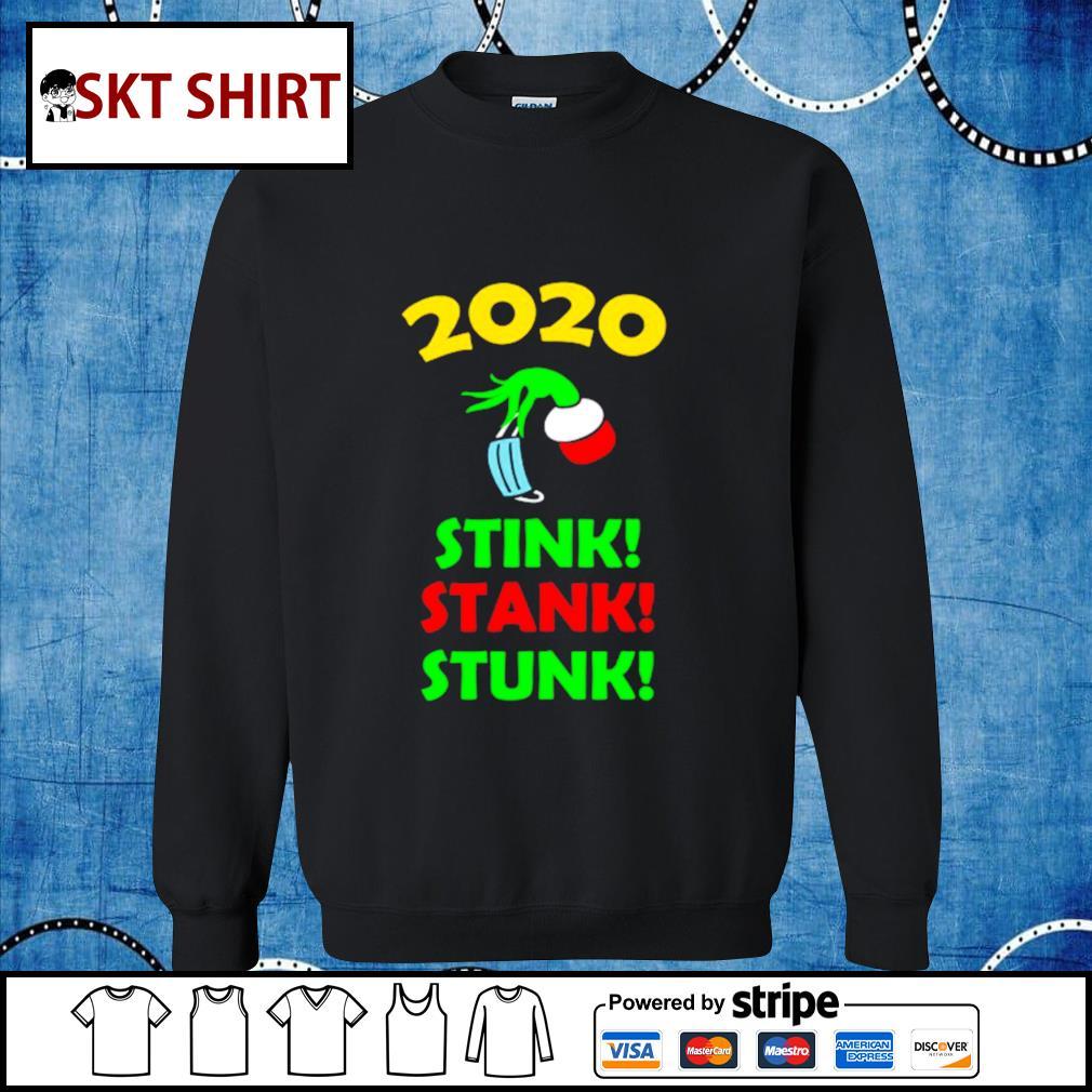 2020 Stink Stank Stunk Funny Christmas Holiday shirt, sweater sweater