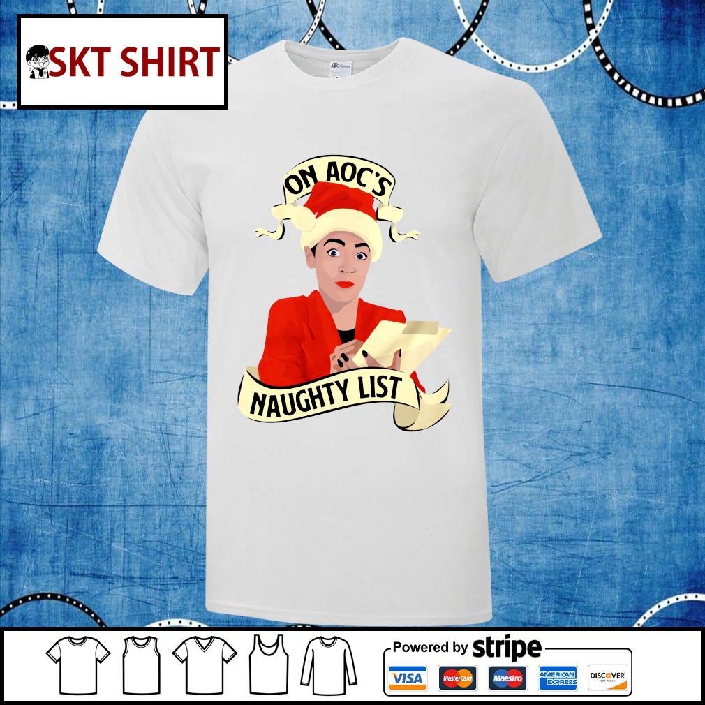On aoc_s naughty list shirt