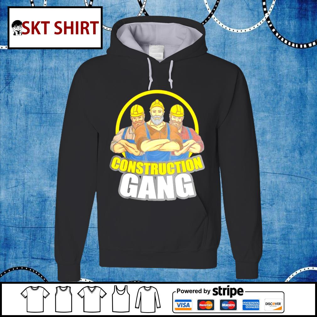 Construction Gang hoodie